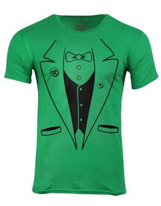 Pánské tričko s potiskem Irish taxido