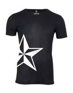 Pánské tričko s potiskem Pale star