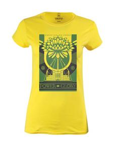 Dámské tričko s potiskem Green power