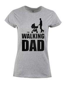 Dámské  tričko s potiskem Walking dad