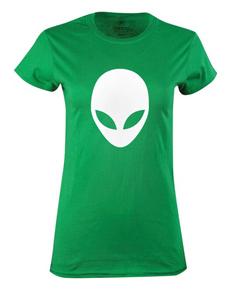 Dámské tričko s potiskem Outer space