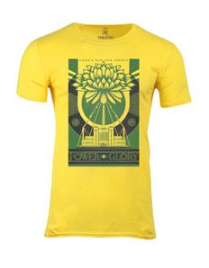 Pánské tričko s potiskem Green power