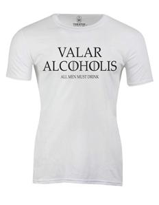 Pánské tričko s potiskem Valar alkoholis