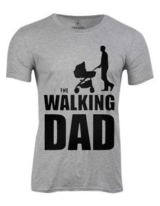 Pánské tričko s potiskem Walking dad