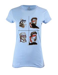 Dámské tričko s potiskem Artists