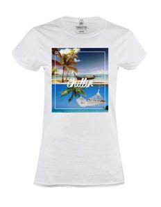 Dámské tričko s potiskem Chillin