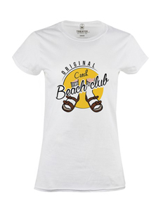 Dámské tričko s potiskem Beach club