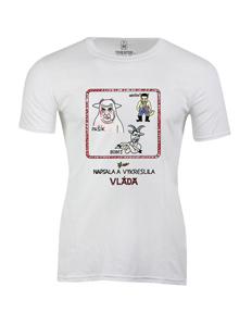 Pánské tričko s potiskem Vláda 2K19