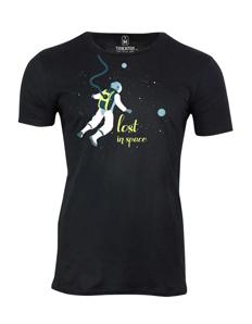 Pánské tričko s potiskem Lost in space