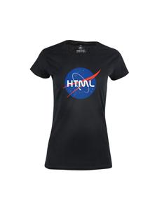 Dámské tričko s potiskem HTML
