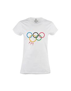 Dámské tričko s potiskem Olympic Games