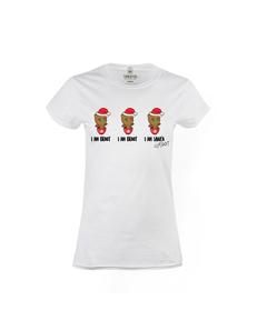 Dámské tričko s potiskem Santa