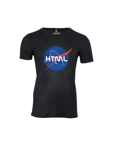 Pánské tričko s potiskem HTML