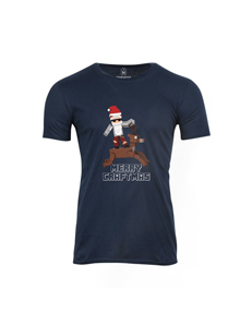 Pánské tričko s potiskem Merry Craftmas