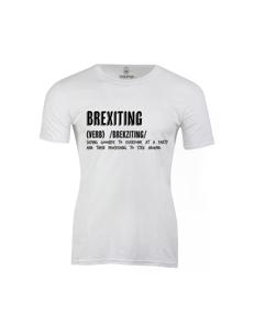 Pánské tričko s potiskem Brexiting