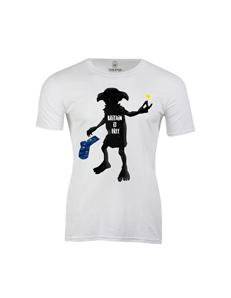 Pánské tričko s potiskem Dobby is free