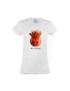 Dámské tričko s potiskem Mr. Wilson