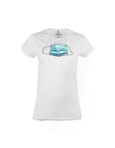 Dámské tričko s potiskem Rouška