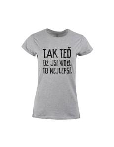 Dámské tričko s potiskem To nejlepší