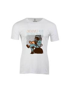 Pánské tričko s potiskem Čti kdekoliv