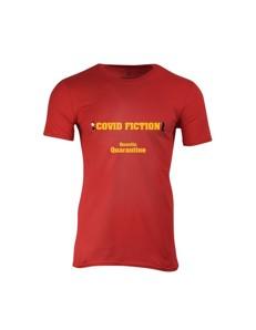 Pánské tričko s potiskem Covid Fiction