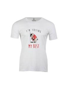 Pánské tričko s potiskem Fat Mops