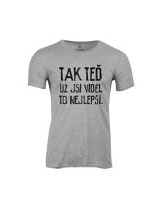 Pánské tričko s potiskem To nejlepší